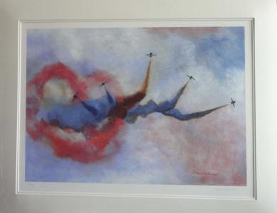 Red Arrows £120 - 670x520mm